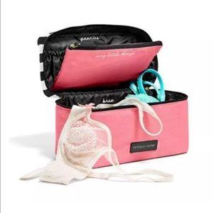 Victoria secret lingerie case travel bag